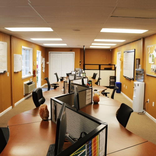 This is an image of The sales room at Oasis Turf and Tree