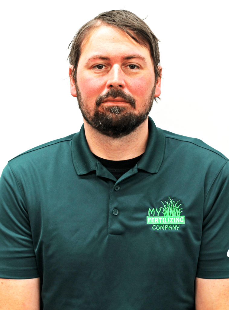 A picture of My Fertilizing Company's Fertilizing Technician Brett Rose