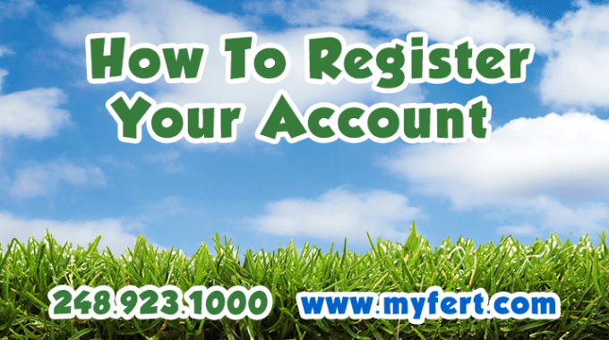 How To Register Your Account