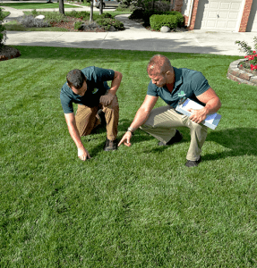 This is an image of My Fertilizing Company Owners Andrew Walsh and Ryan Shiplett
