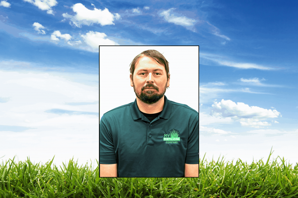 This Is A Picture Of My Fertilizing Employee Brett Rose